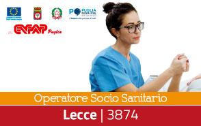 Operatore Socio Sanitario - 3874 Lecce